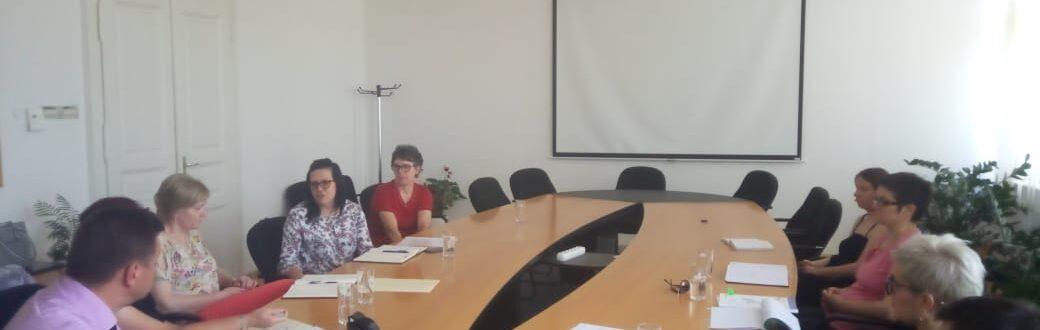 Ruka Podrške Koprivnica-Održan prvi sastanak projektnog tima ruka podrske