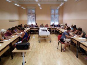 Ruka Podrške Koprivnica POČETAK OSPOSOBLJAVANJA