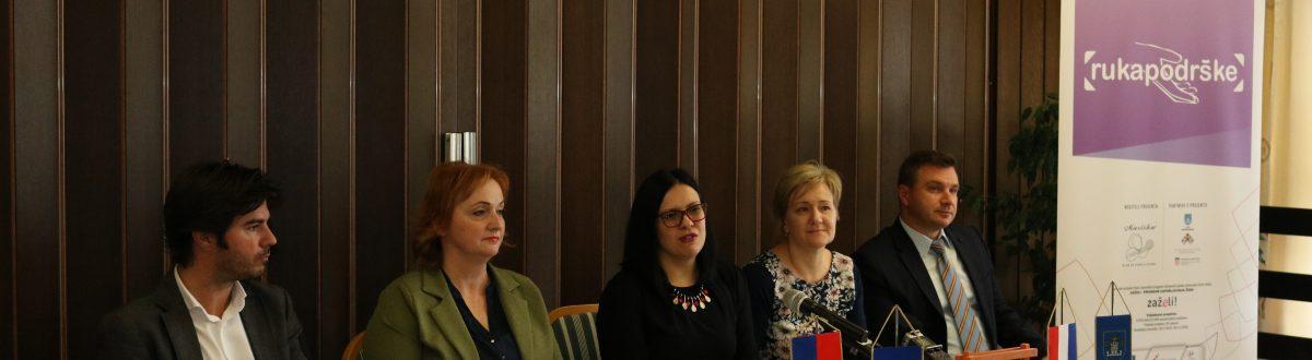 Ruka Podrške Koprivnica- konferencija za medije u sklopu projekta Ruka podrške