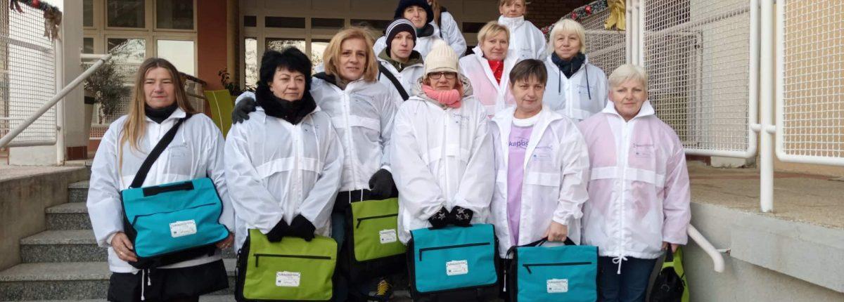 Ruka Podrške Koprivnica - Održan je prvi mjesečni sastanak koordinatora rada i radnica na projektu Ruka Podrške
